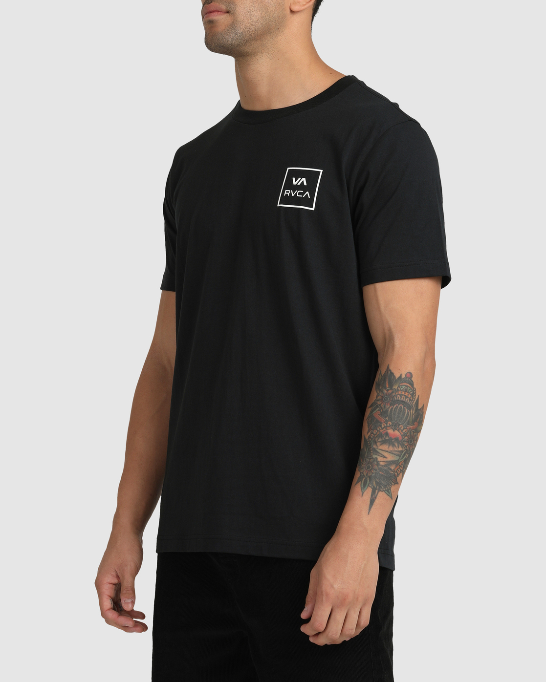 7 VA All The Ways - T-Shirt for Men Black W1SSSLRVP1 RVCA