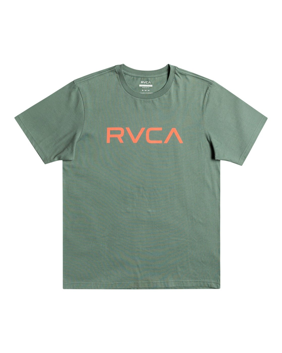 0 Big RVCA - T-Shirt for Men Green W1SSSQRVP1 RVCA