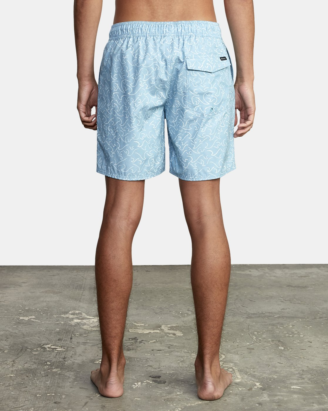 """7 Club 17"""" - Boardshorts for Men Blue W1VOIBRVP1 RVCA"""