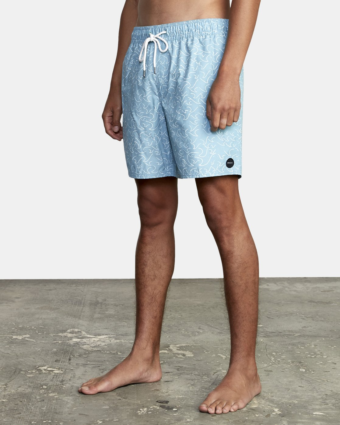 """2 Club 17"""" - Boardshorts for Men Blue W1VOIBRVP1 RVCA"""