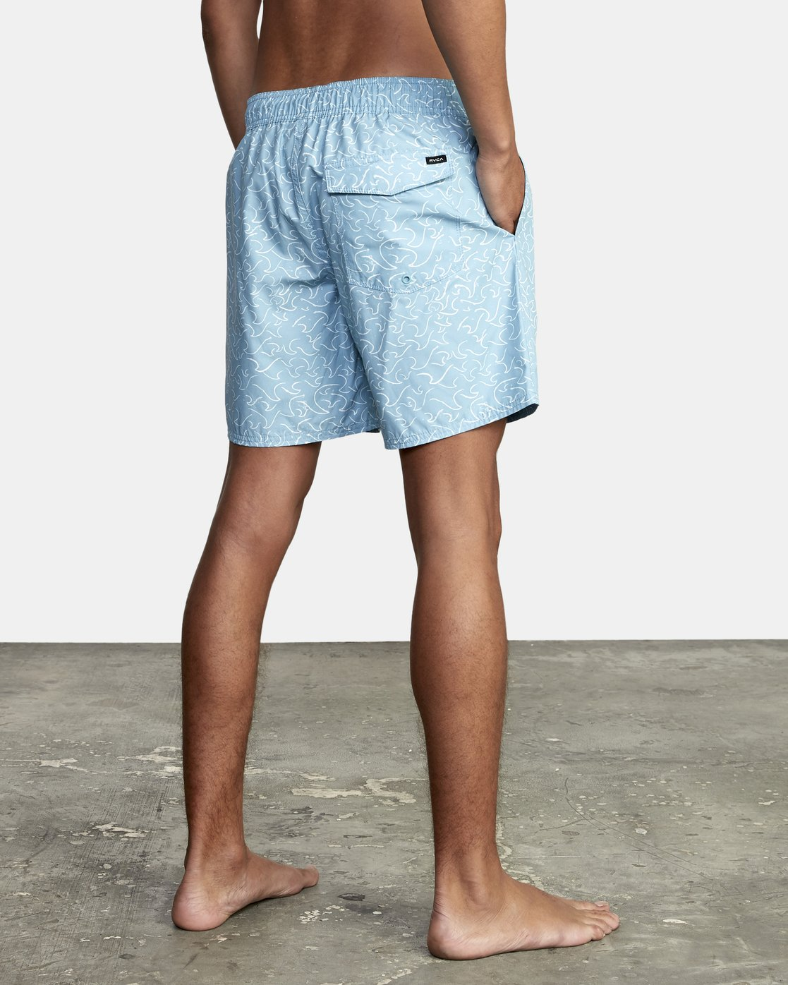 """4 Club 17"""" - Boardshorts for Men Blue W1VOIBRVP1 RVCA"""