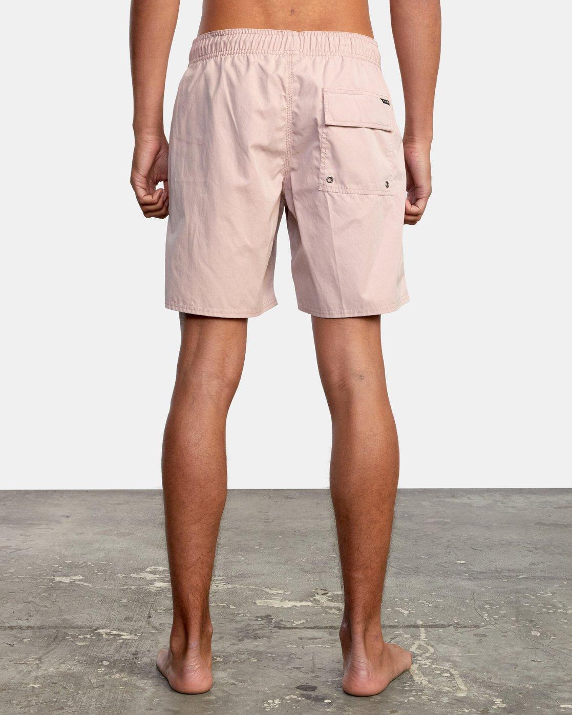 """2 Opposites 17"""" - Elasticated Shorts for Men  W1VORBRVP1 RVCA"""