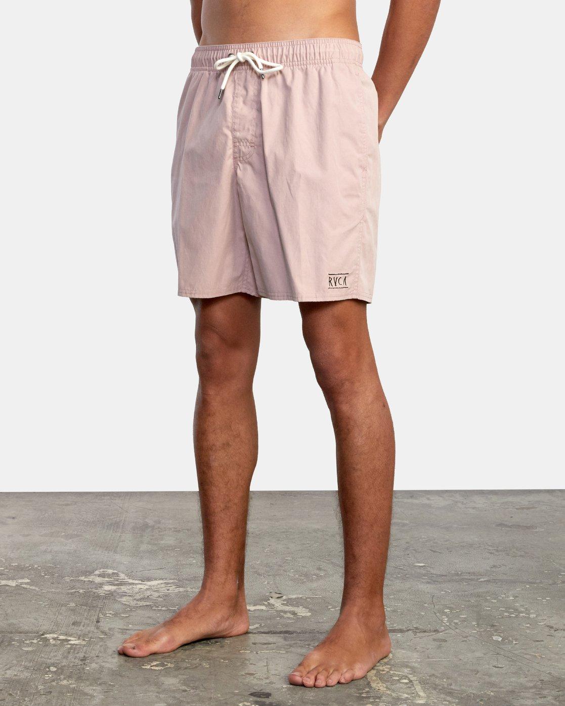 """4 Opposites 17"""" - Elasticated Shorts for Men  W1VORBRVP1 RVCA"""