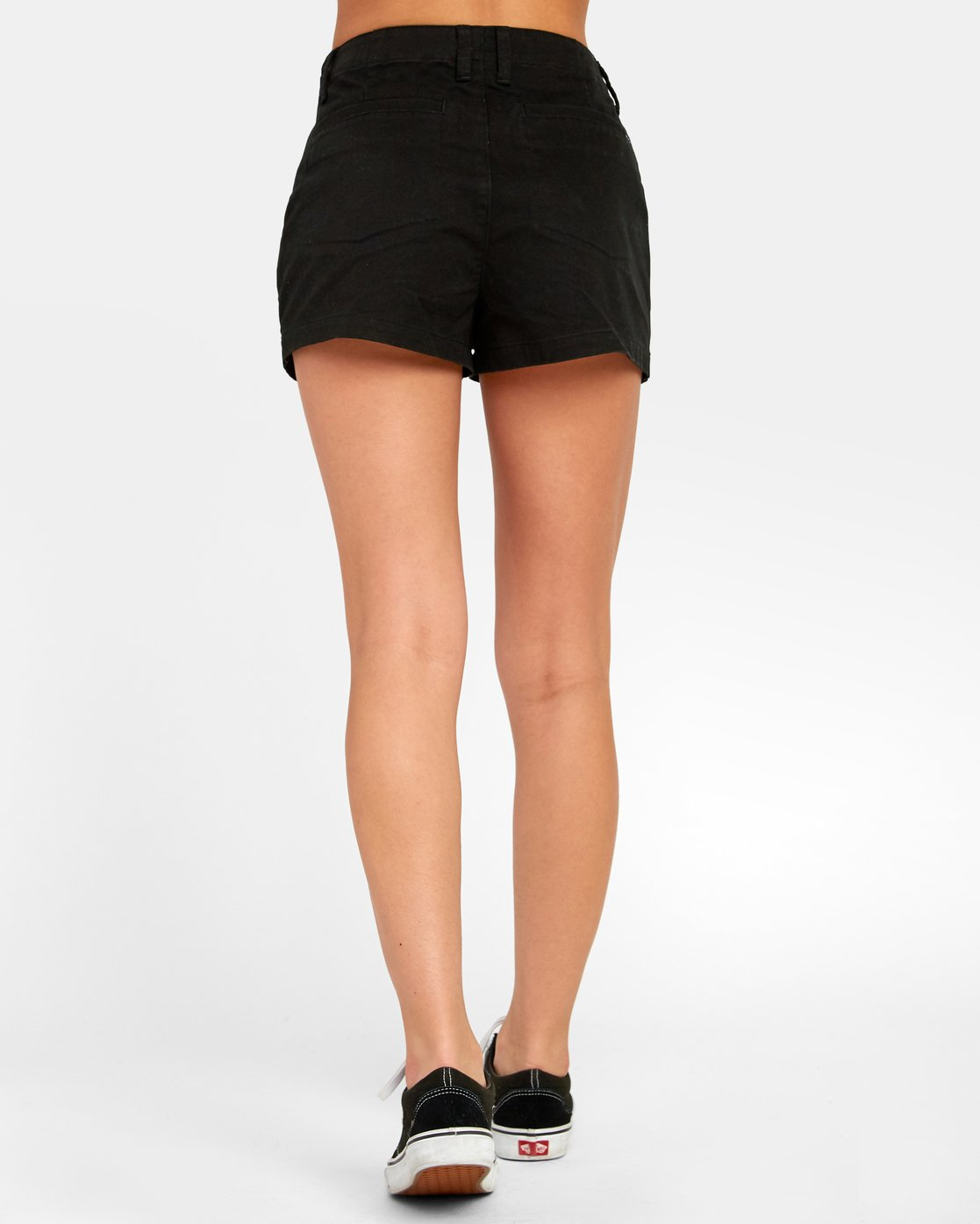 1 NO LONGER HIGH RISE SHORT Black W2021RNL RVCA