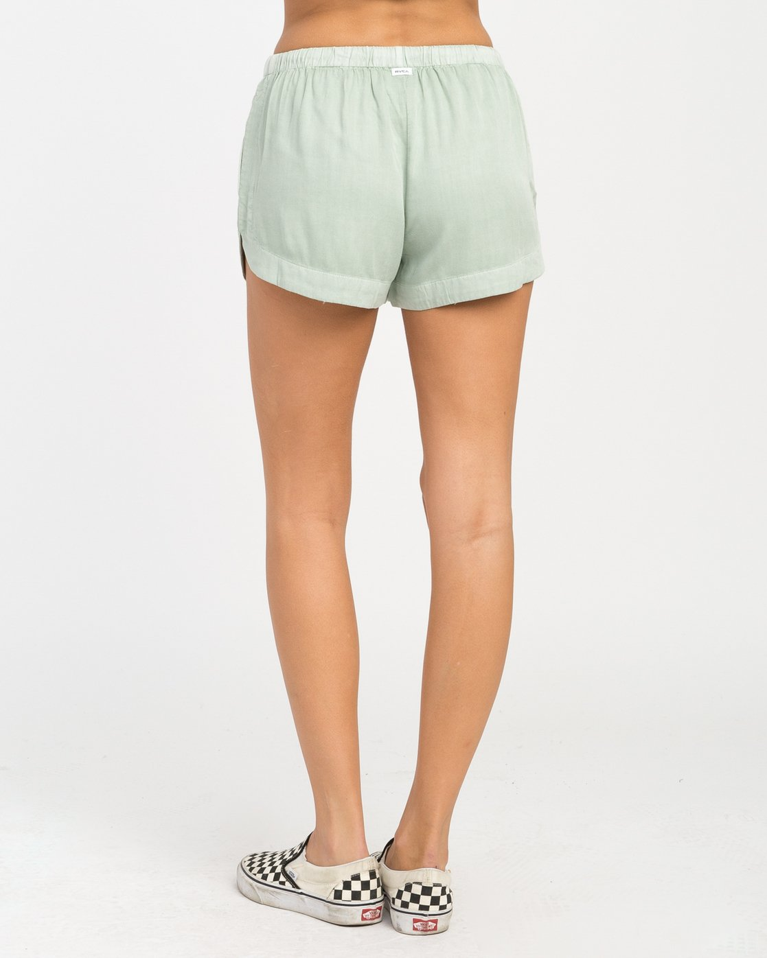 3 New Yume Elastic Short Green W202PRNY RVCA