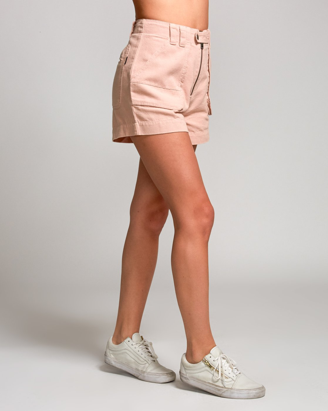 3 Router High Rise Short Pink W206URRO RVCA