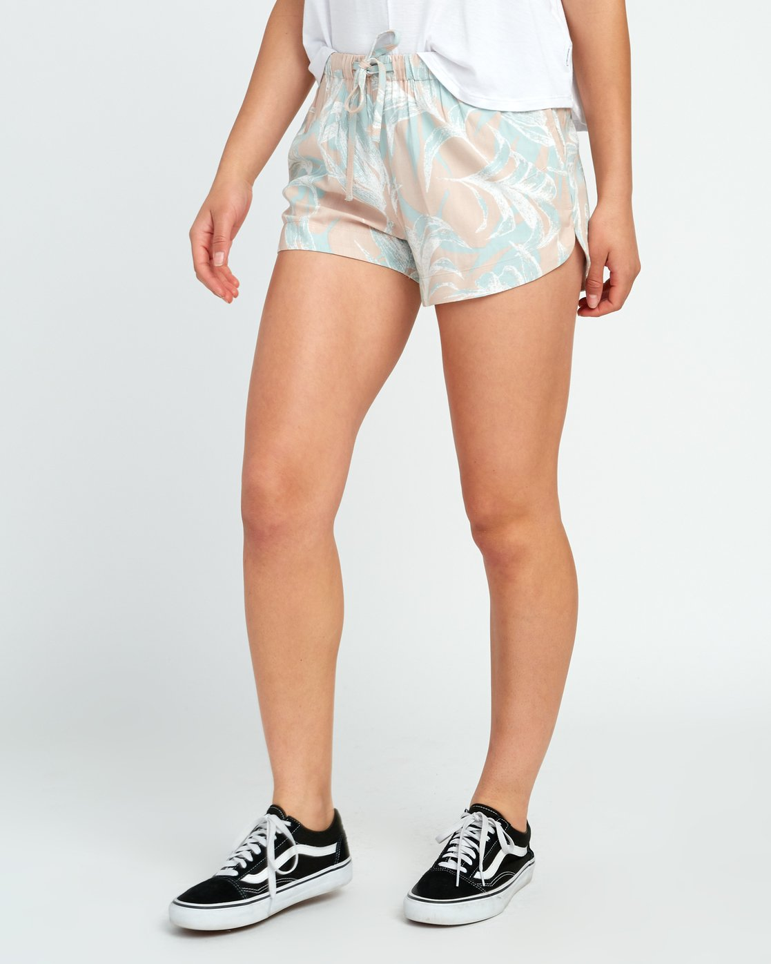 1 Hawaii Yume Printed Elastic Short Grey W277SRHY RVCA