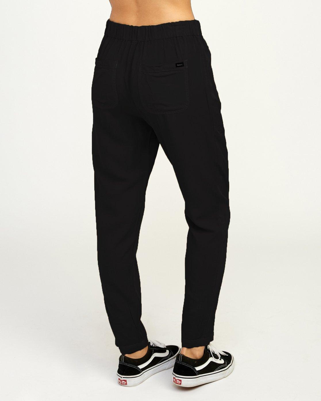 5 Chill Vibes Elastic Pant Black W301PRCV RVCA