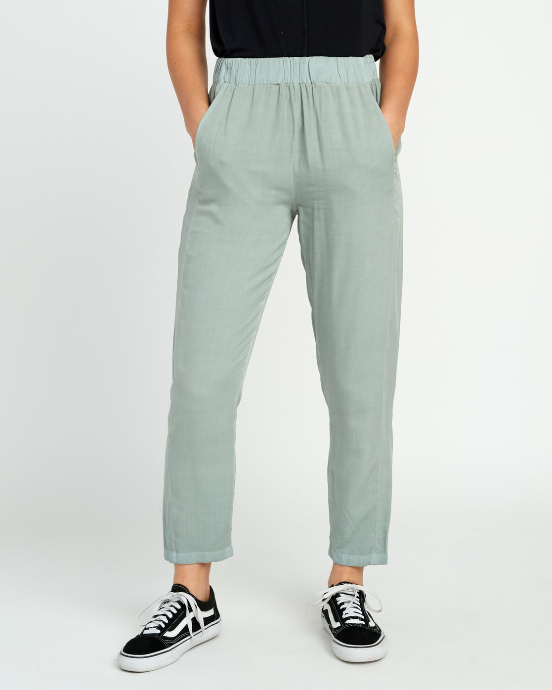 1 Chill Vibes Elastic Pant Green W301PRCV RVCA