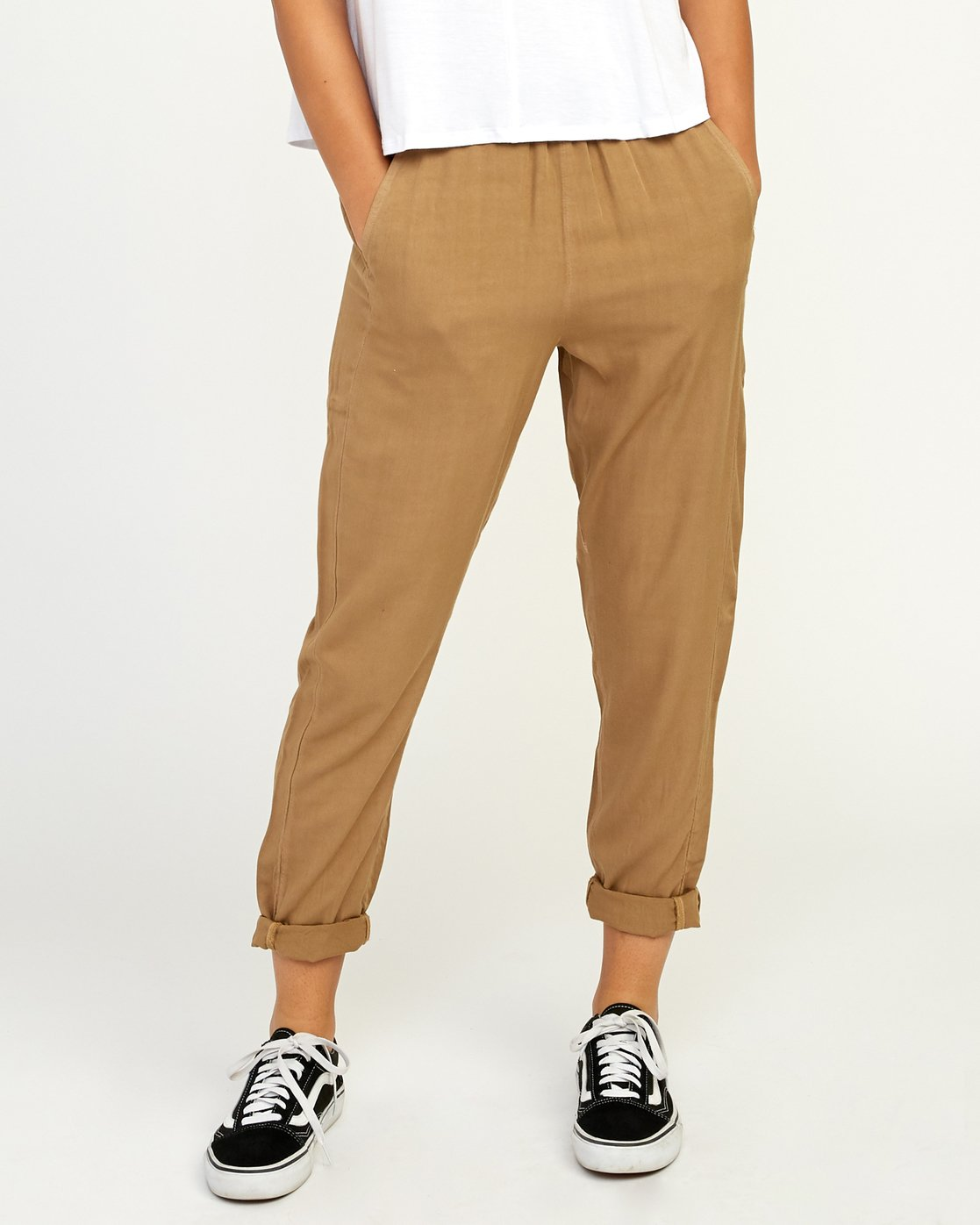 0 Chill Vibes Elastic Pant Beige W301PRCV RVCA