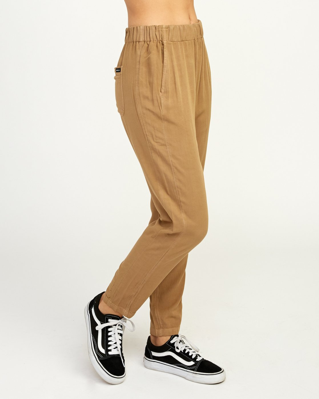 6 Chill Vibes Elastic Pant Beige W301PRCV RVCA