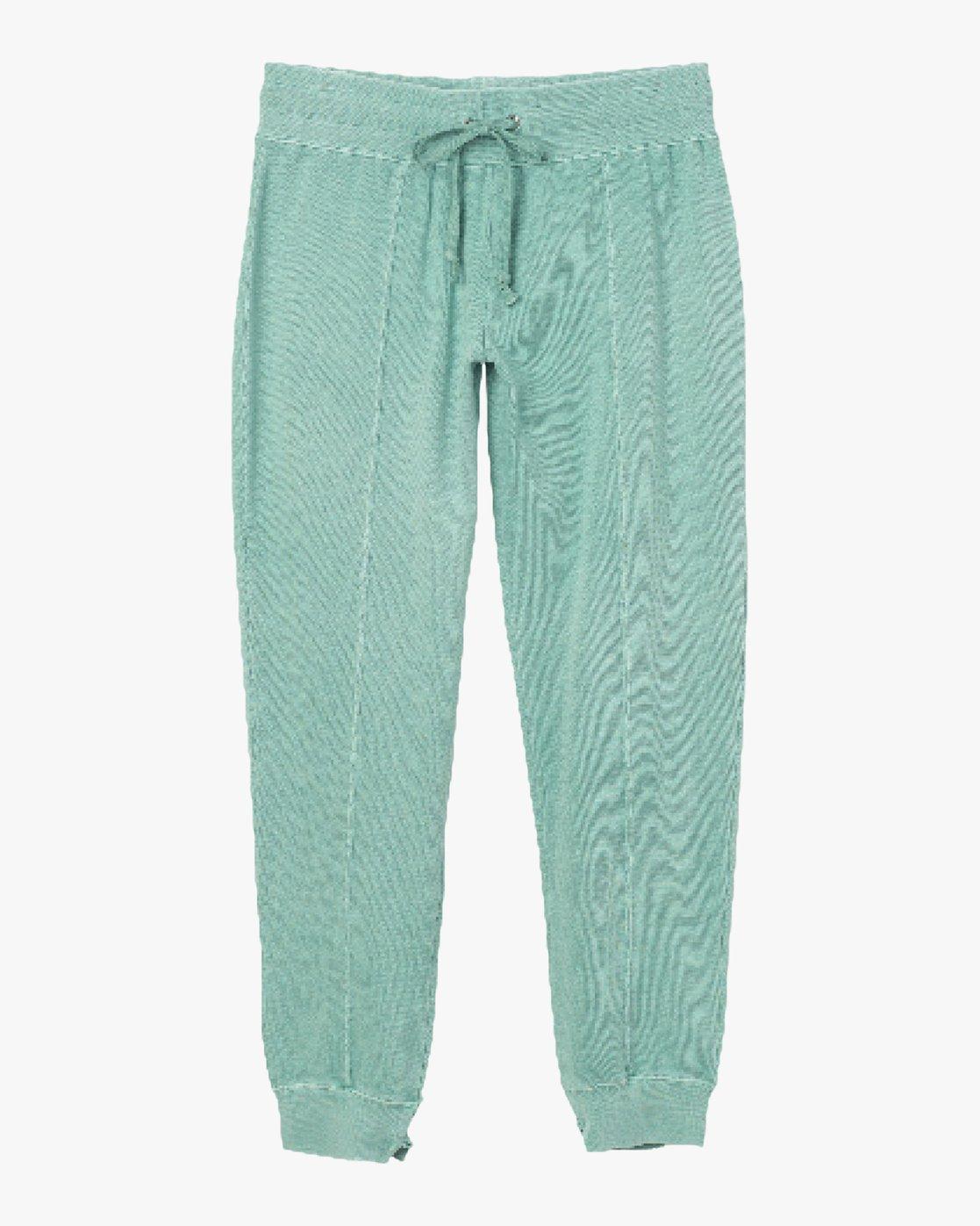 6 Faint Fleece Sweat Pant Green W301QRFA RVCA