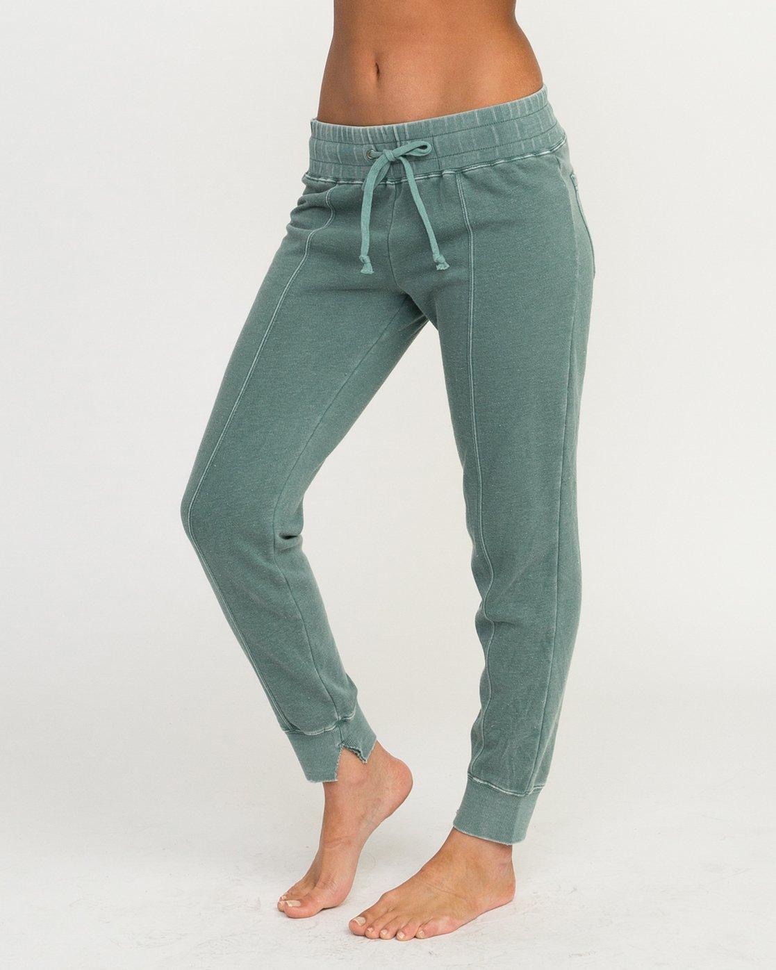 1 Faint Fleece Sweat Pant Green W301QRFA RVCA
