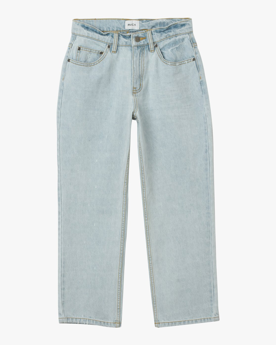 7 Filtered Straight Leg Denim Jean White W301QRFL RVCA