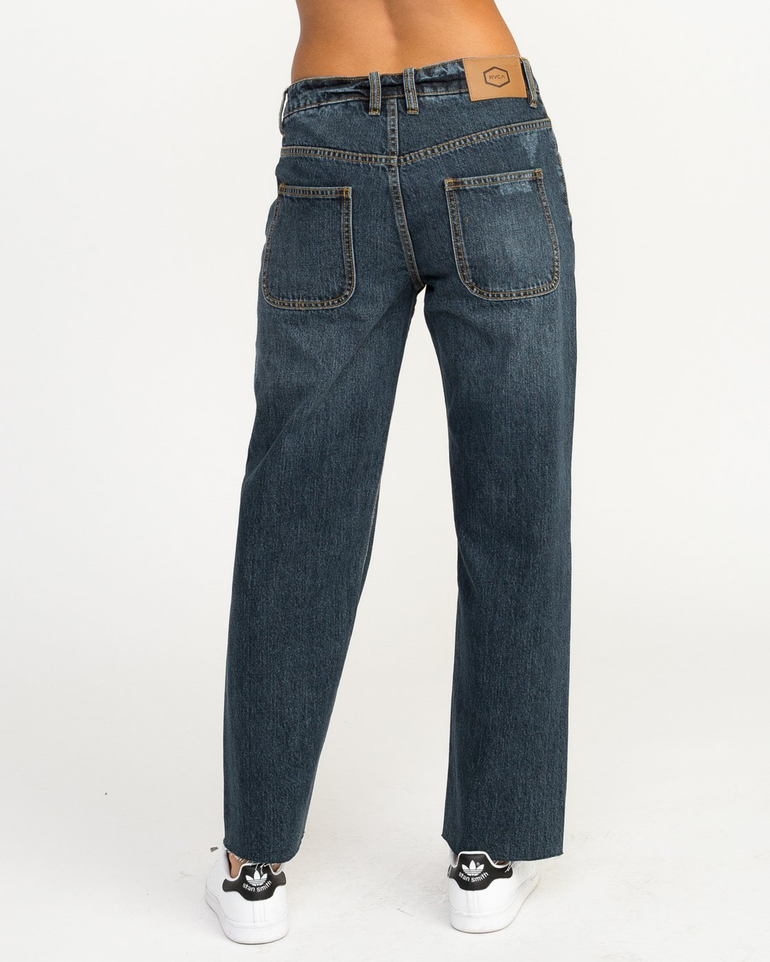 4 Filtered Straight Leg Denim Jean Blue W301QRFL RVCA