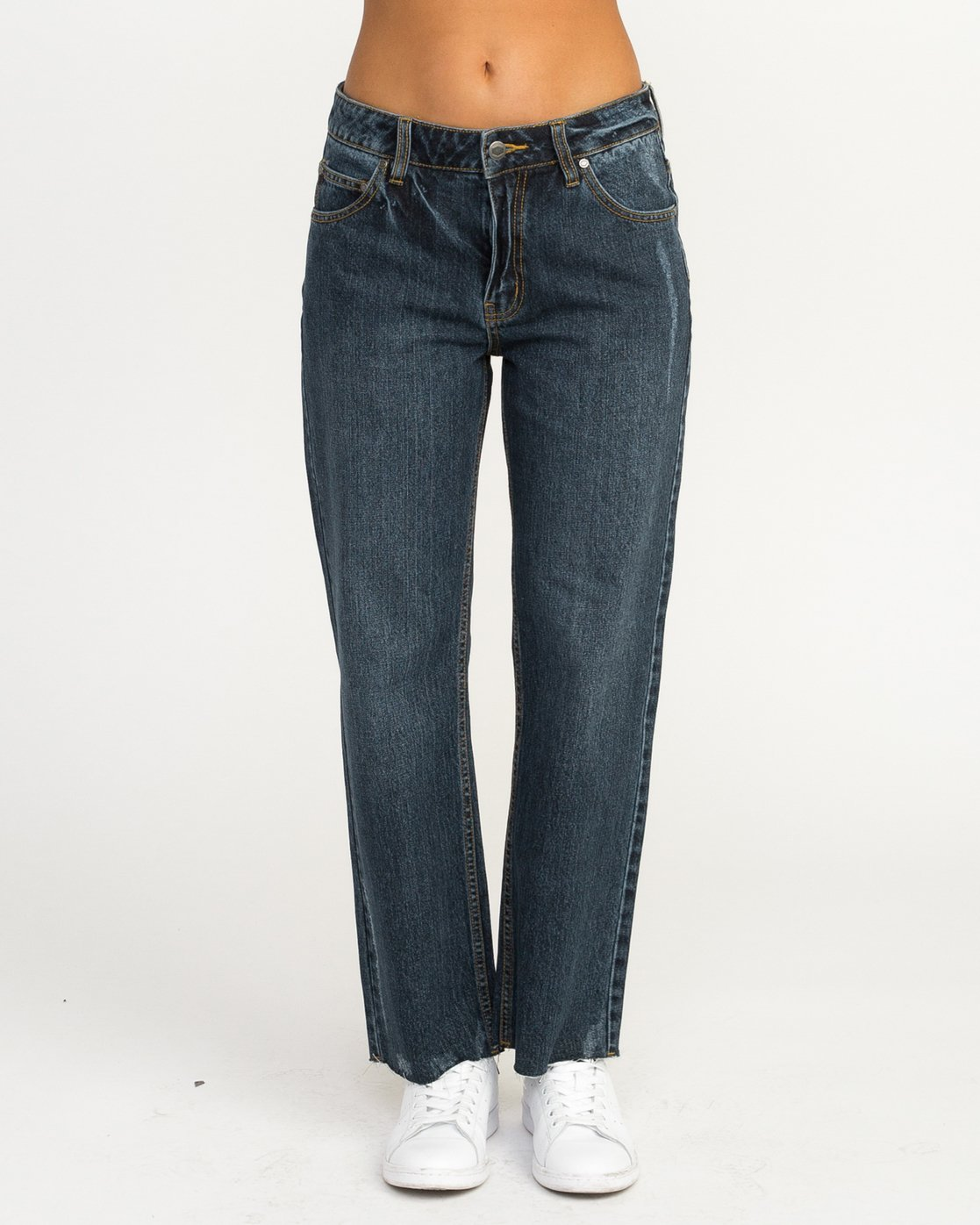 1 Filtered Straight Leg Denim Jean Blue W301QRFL RVCA