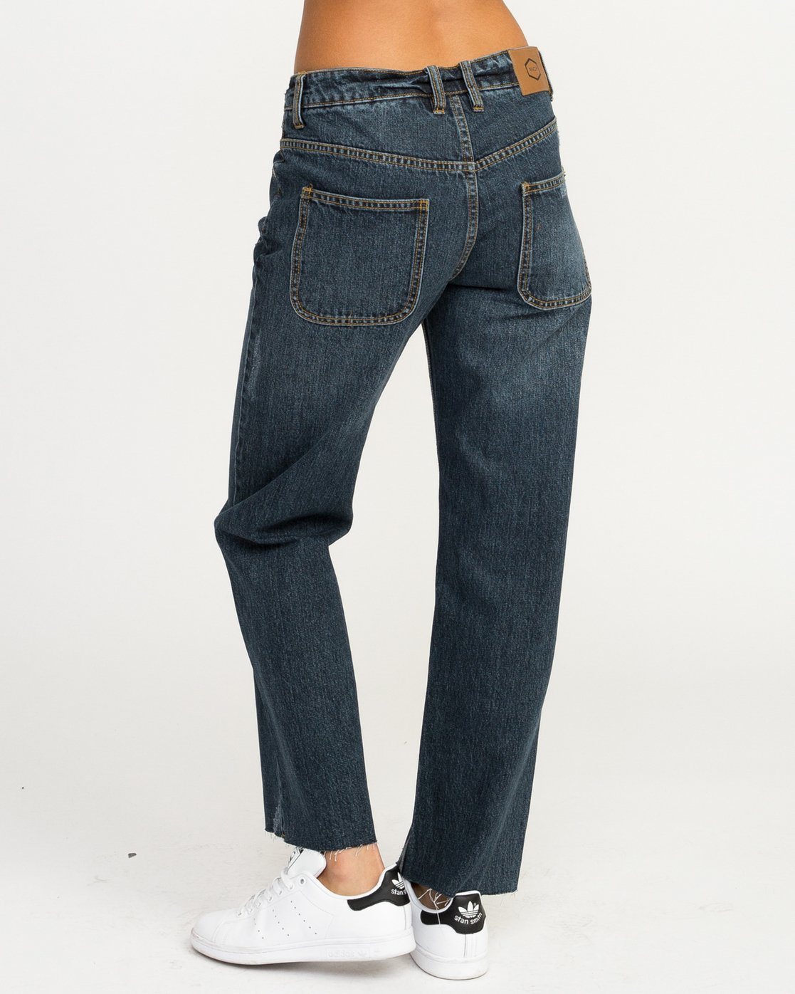 3 Filtered Straight Leg Denim Jean Blue W301QRFL RVCA