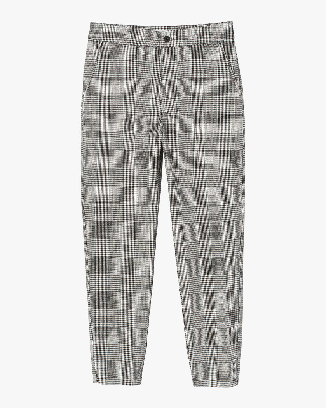 6 Remy Plaid Trousers White W301SRRE RVCA