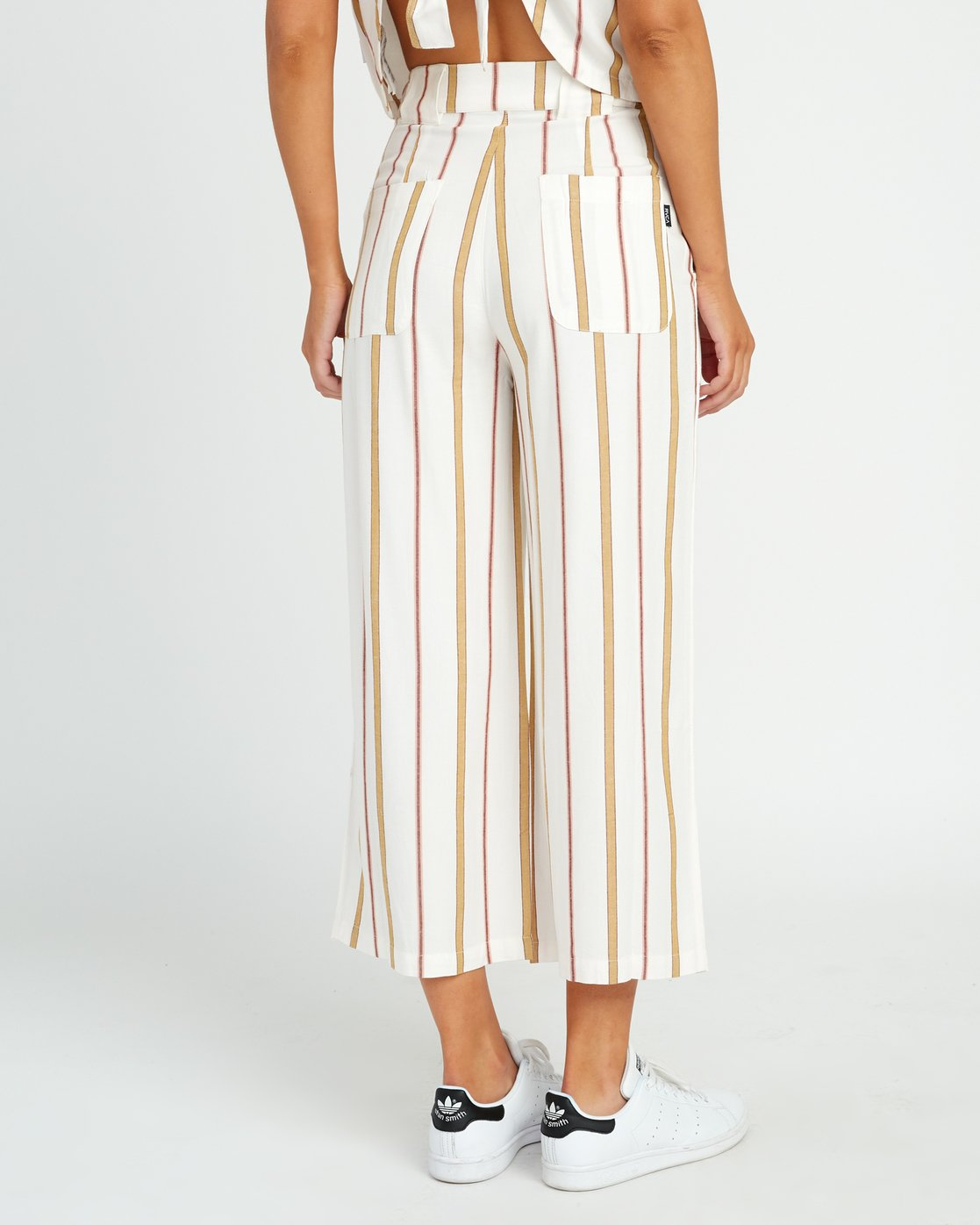 1 Fully Noted Striped Pants White W301URFU RVCA