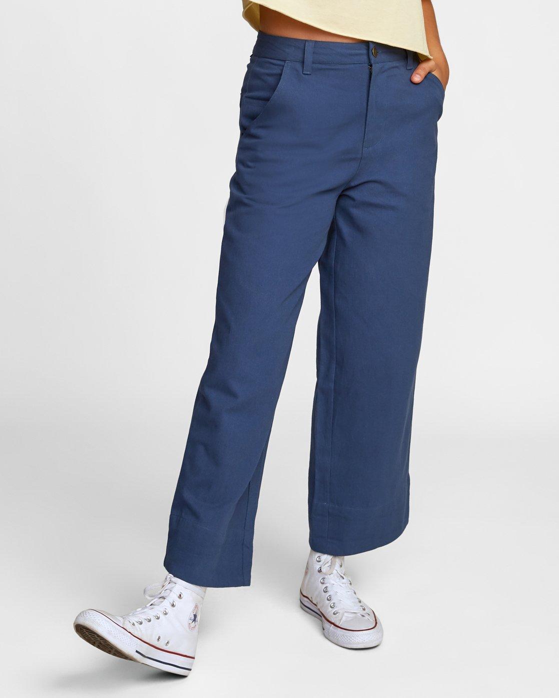 1 JACKAL PANT Blue W3022RJA RVCA