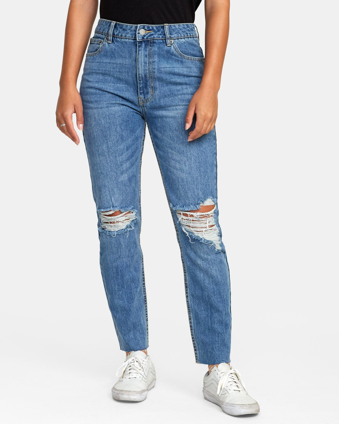 0 Piper High Rise Tapered Denim  W302VRPI RVCA