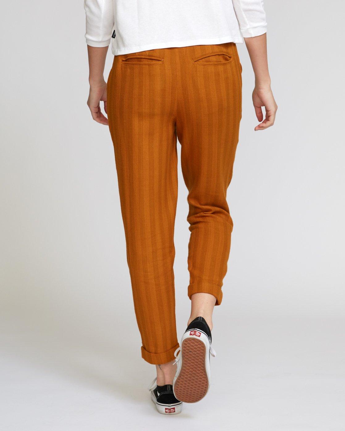 2 Scout Striped Trouser Orange W302VRST RVCA