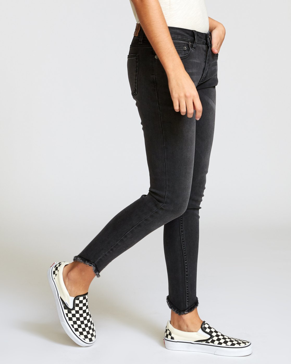 4 Dayley Skinny Jeans Blue W304VRDA RVCA
