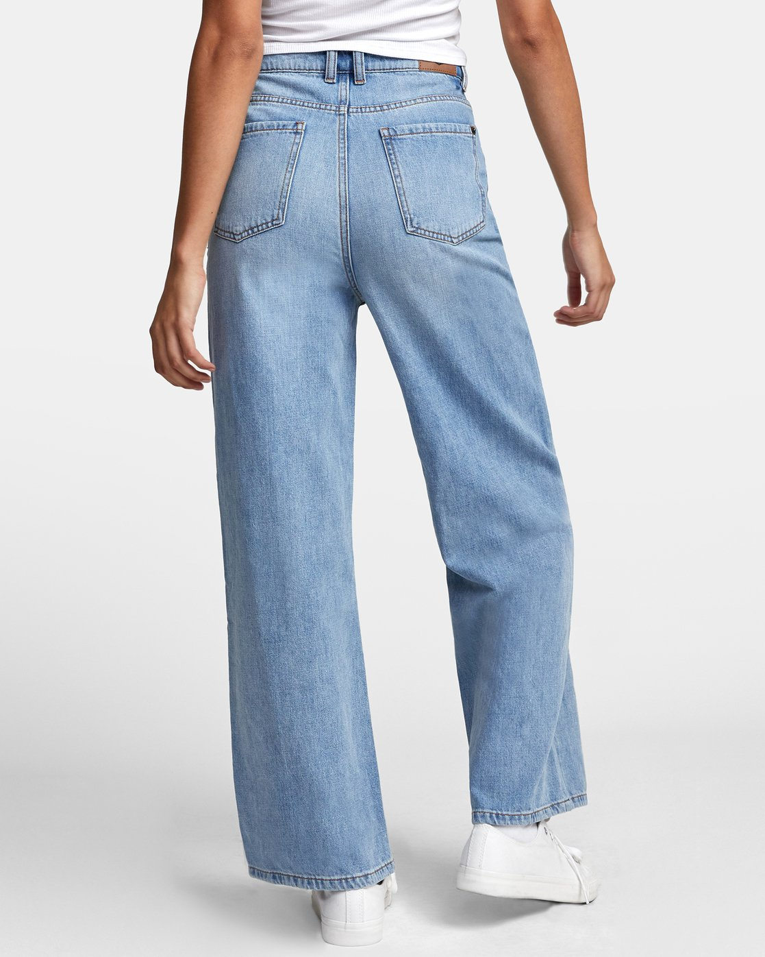 4 COCO HIGH RISE RELAXED DENIM Blue W3063RCO RVCA