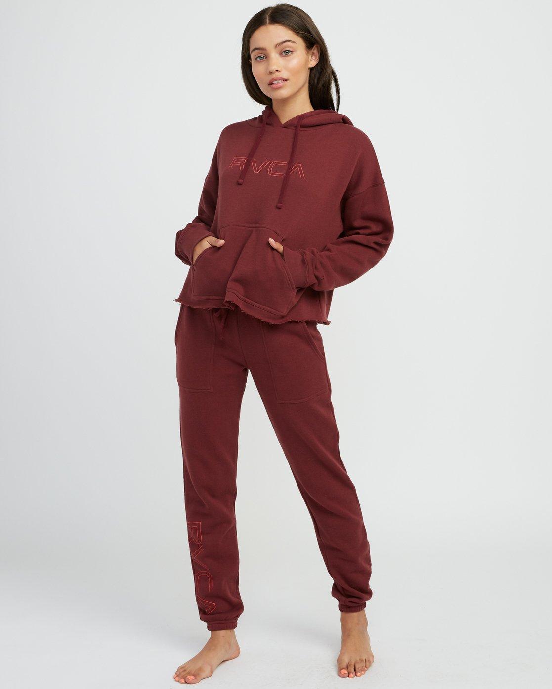 5 Pinner Fleece sweatpant Multicolor W322SRPI RVCA