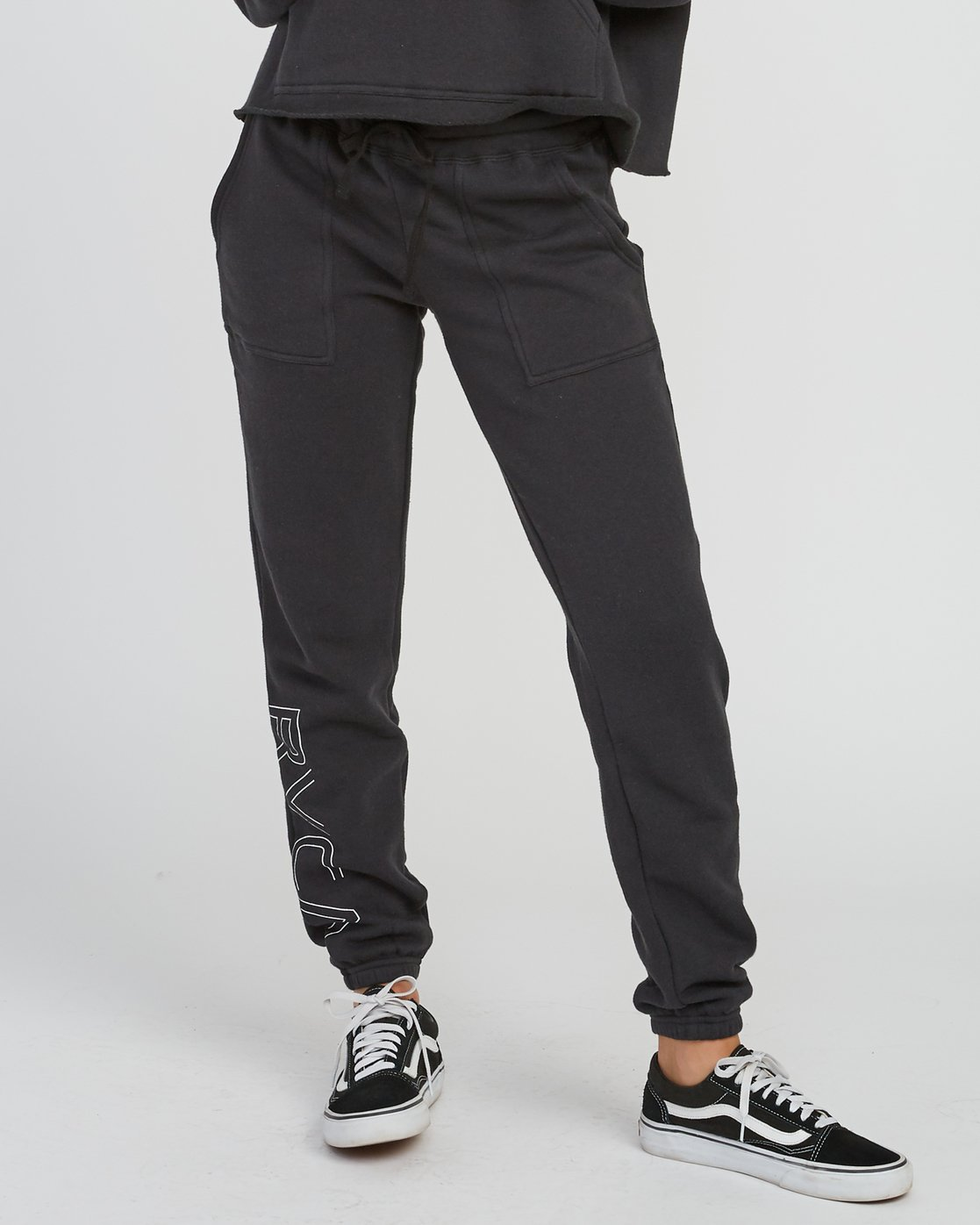 0 Pinner Fleece sweatpant Black W322SRPI RVCA