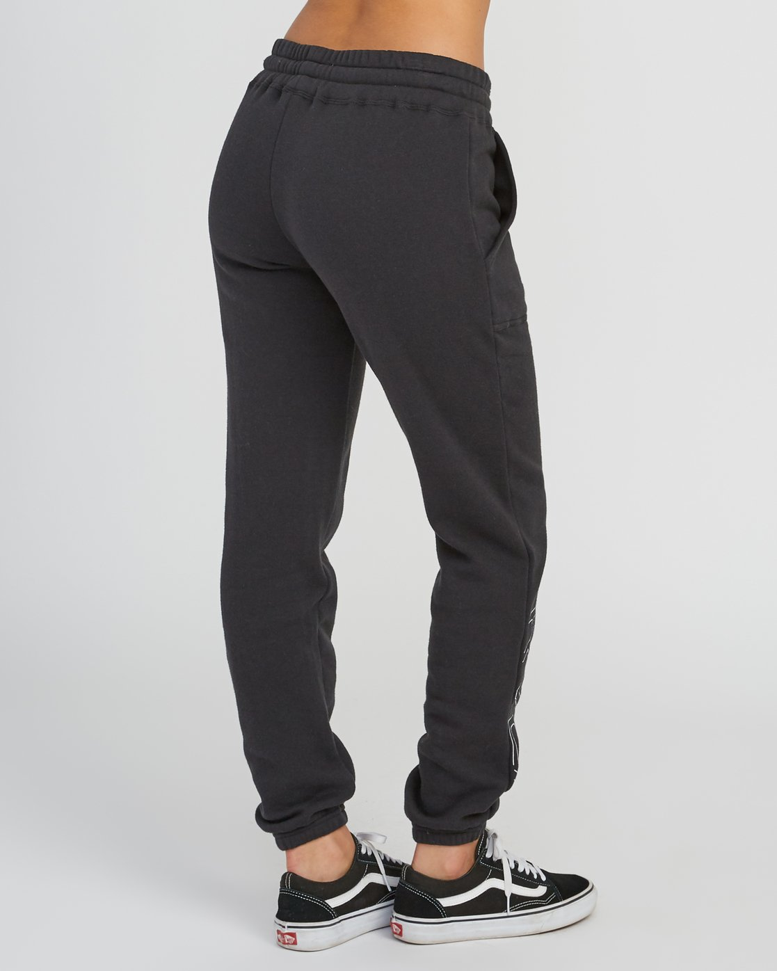 4 Pinner Fleece sweatpant Black W322SRPI RVCA