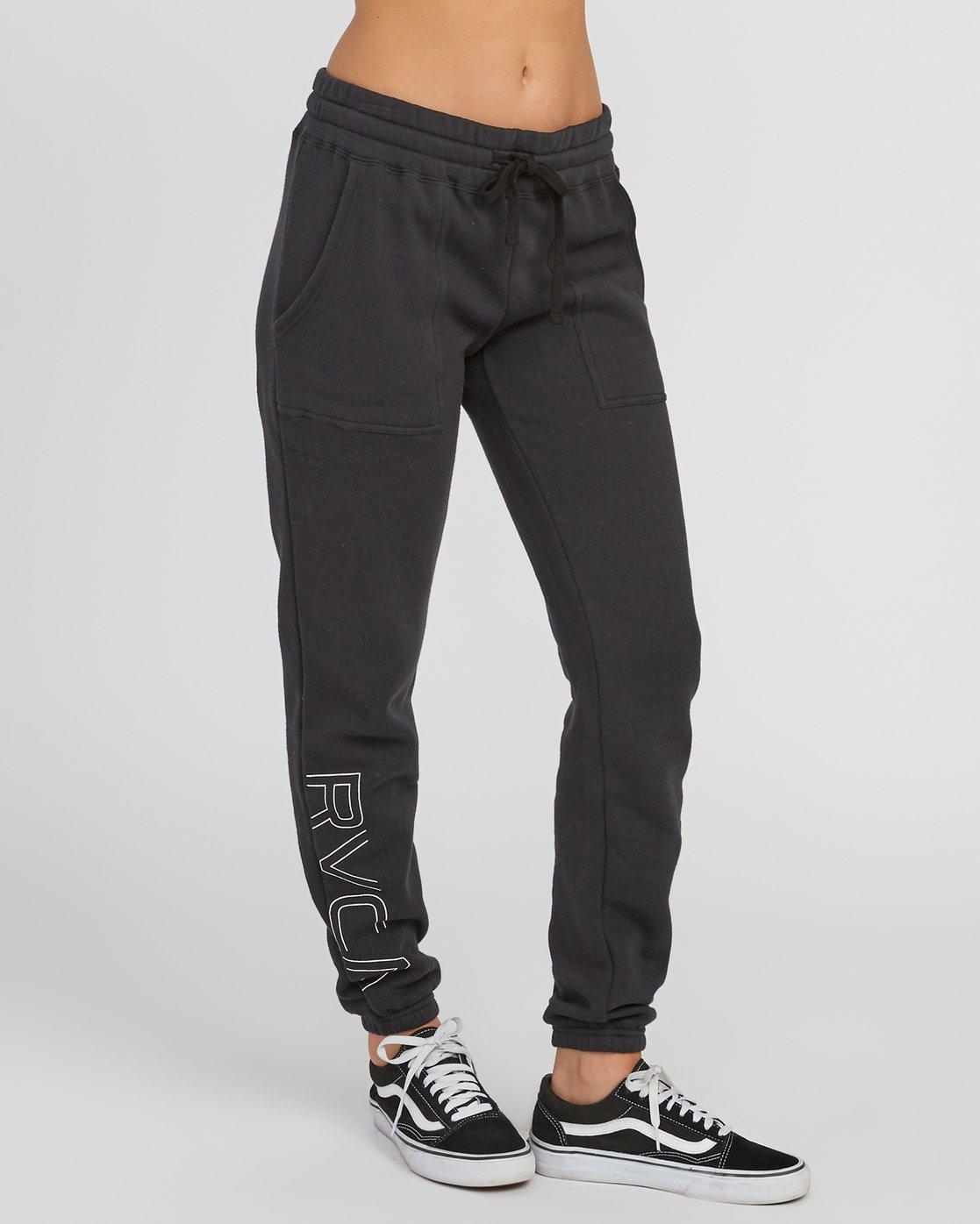 5 Pinner Fleece sweatpant Black W322SRPI RVCA