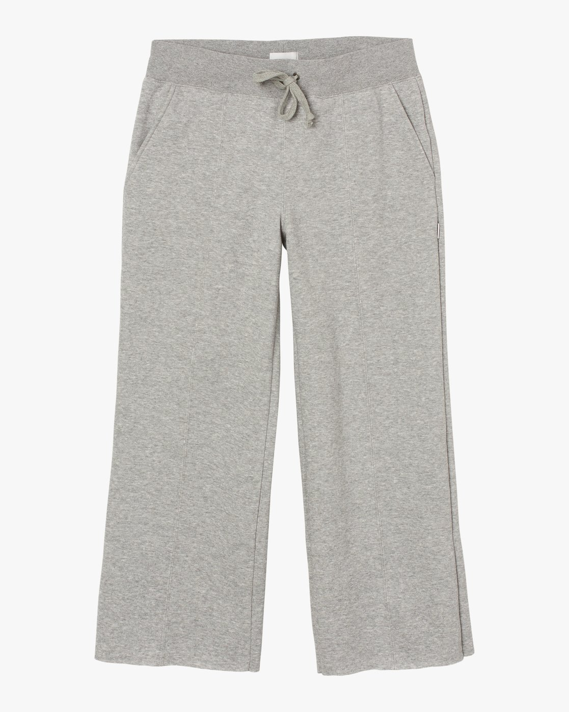 6 Stakeit Wide Leg Fleece Pant Grey W352SRST RVCA