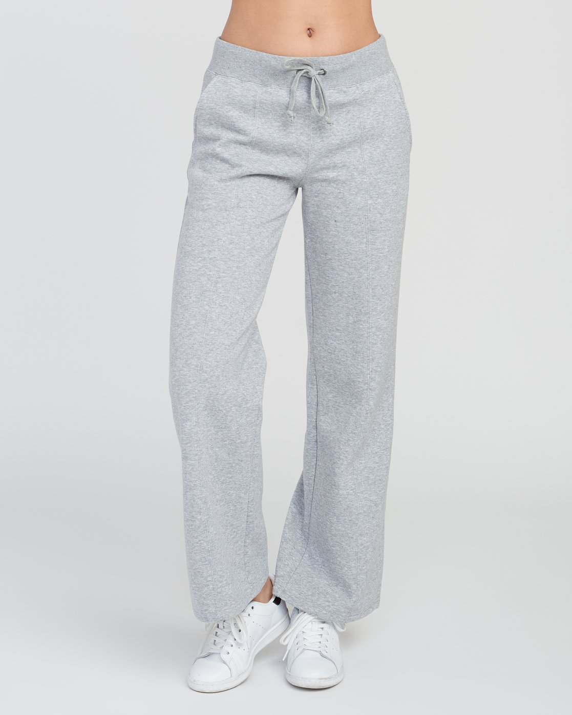 1 Stakeit Wide Leg Fleece Pant Grey W352SRST RVCA
