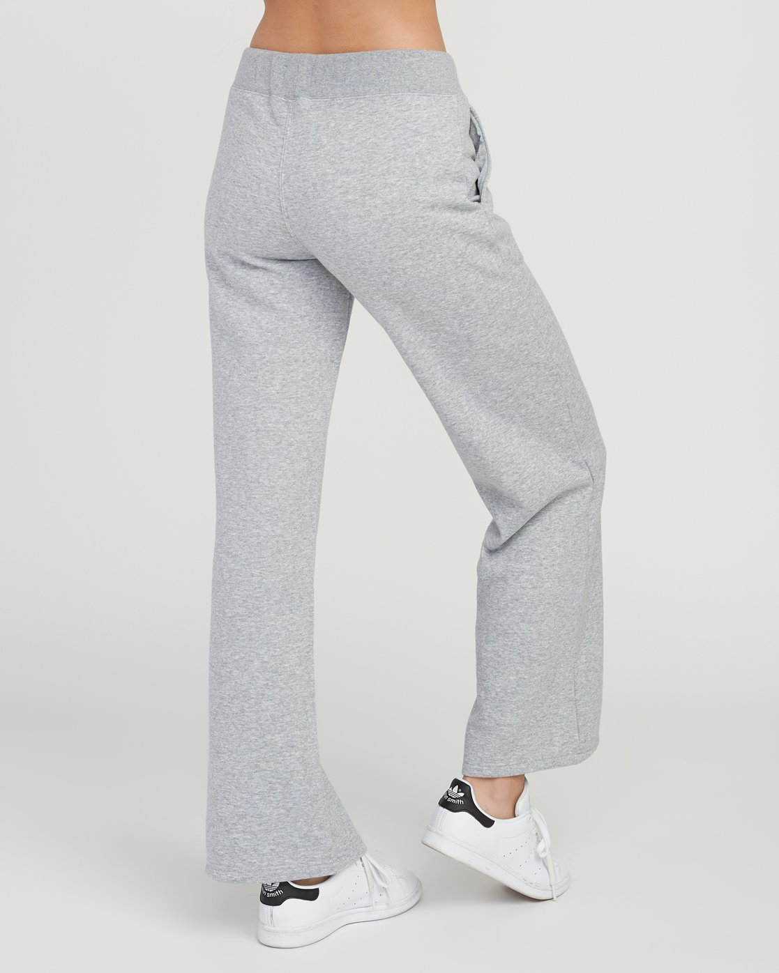 4 Stakeit Wide Leg Fleece Pant Grey W352SRST RVCA