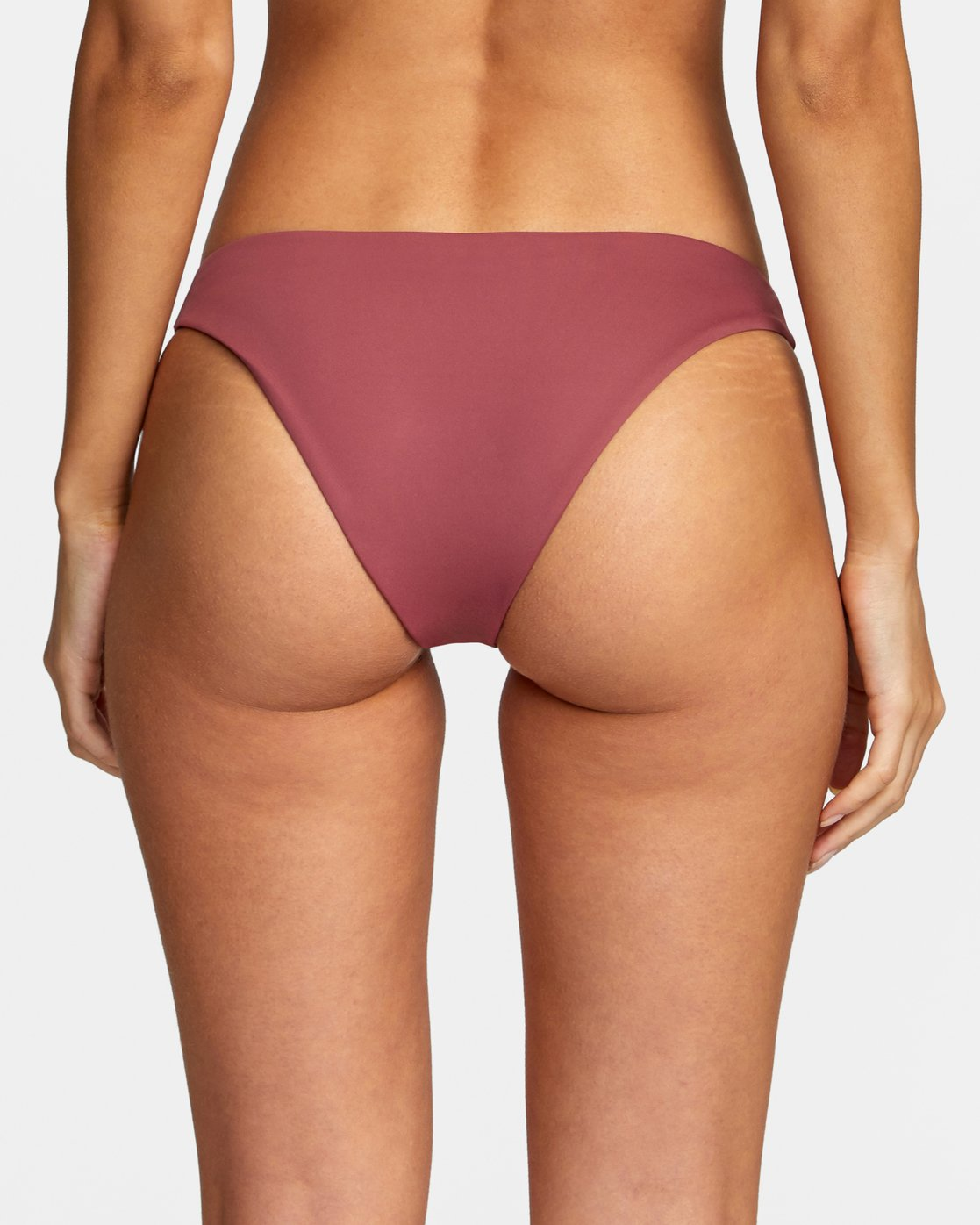 4 Solid Medium - Medium Bikini Bottoms for Women Purple W3SBRORVP1 RVCA