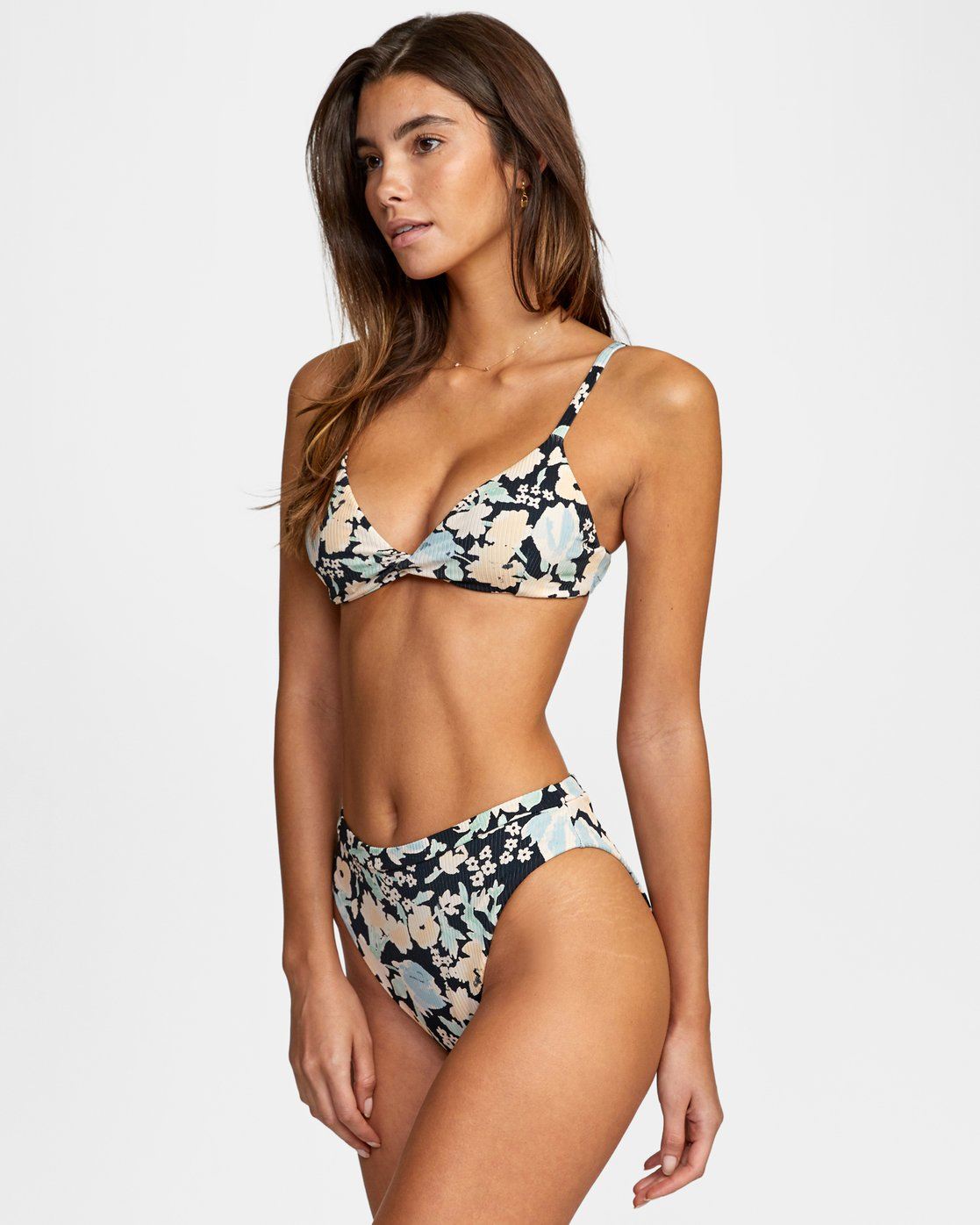 3 Spring Bound - High Waist Bikini Bottoms for Women Black W3SBSARVP1 RVCA
