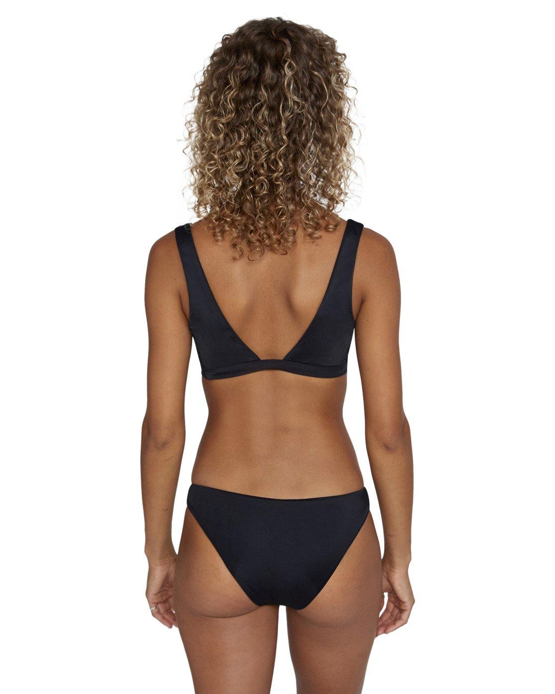 1 Solid Bralette - Bikini Top for Women Black W3STRBRVP1 RVCA