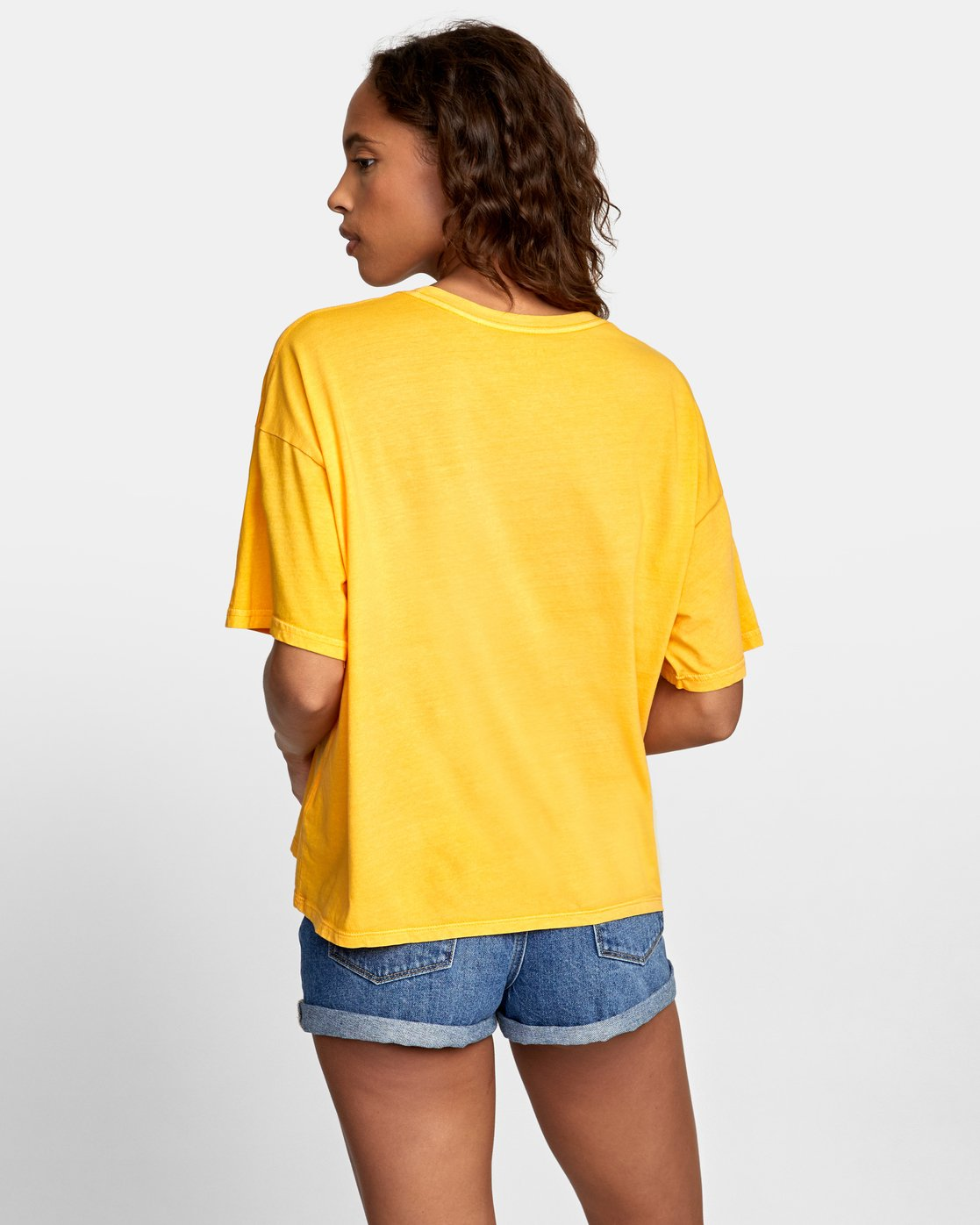 3 WISH YOU Yellow W4071RWR RVCA