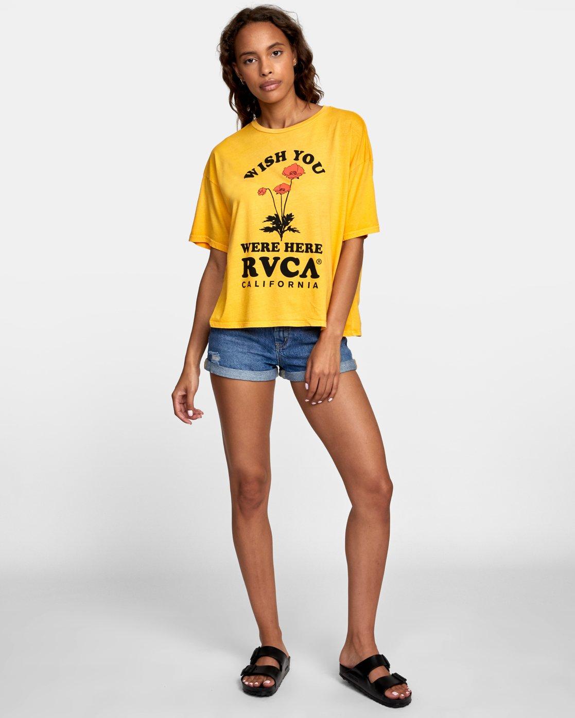 1 WISH YOU Yellow W4071RWR RVCA