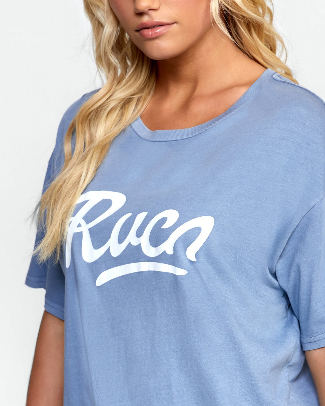 4 FRIDAY BOYFRIEND TEE Purple W4072RFY RVCA