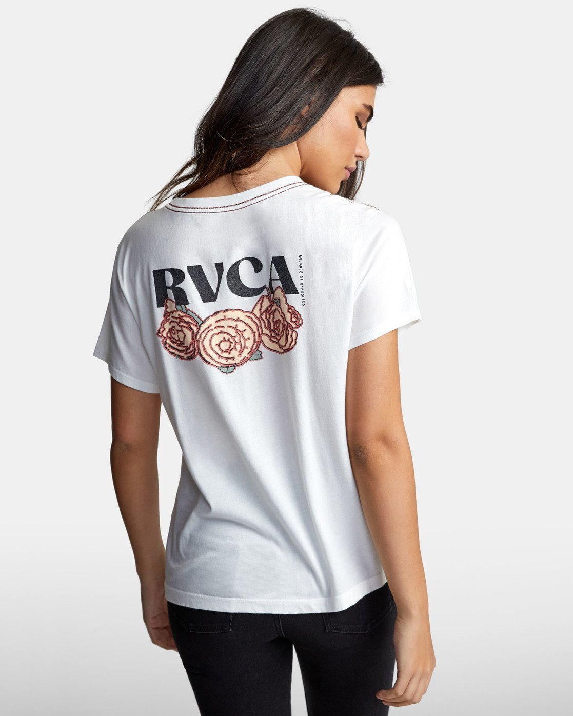2 ROSES ARE RED White W4101RRR RVCA
