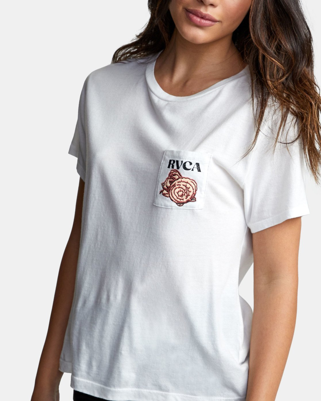 3 ROSES ARE RED White W4101RRR RVCA