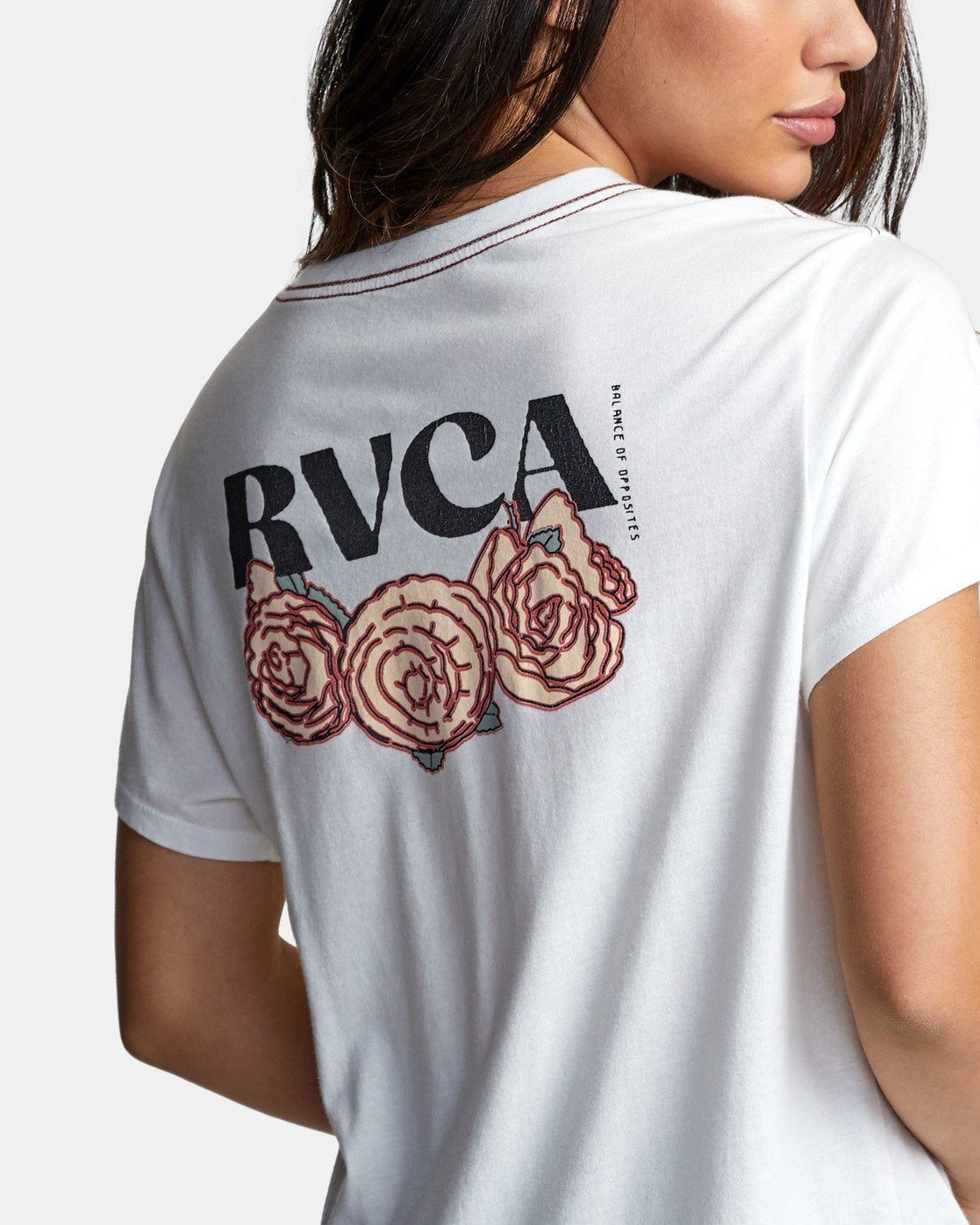4 ROSES ARE RED White W4101RRR RVCA