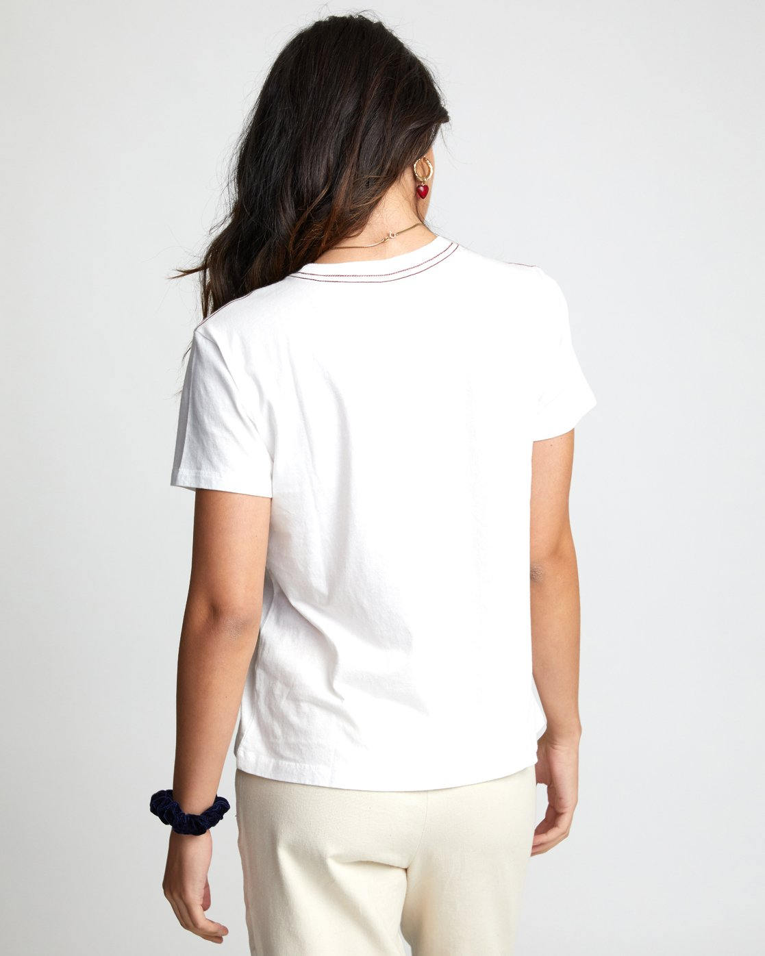 1 UNDER OVER TEE White W4103RUO RVCA