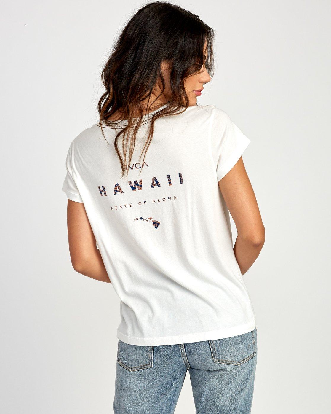 0 Da Aina Fill Pocket T-Shirt White W412VRDH RVCA