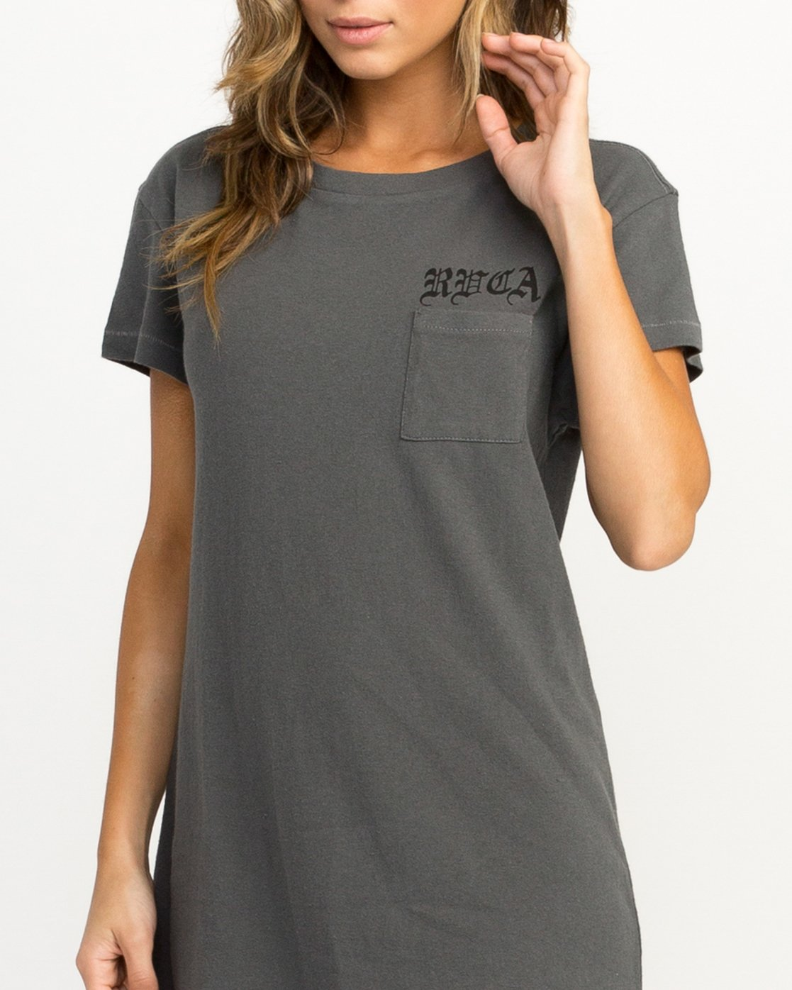 3 Bert Krak OE T-Shirt Dress  W426QRBE RVCA