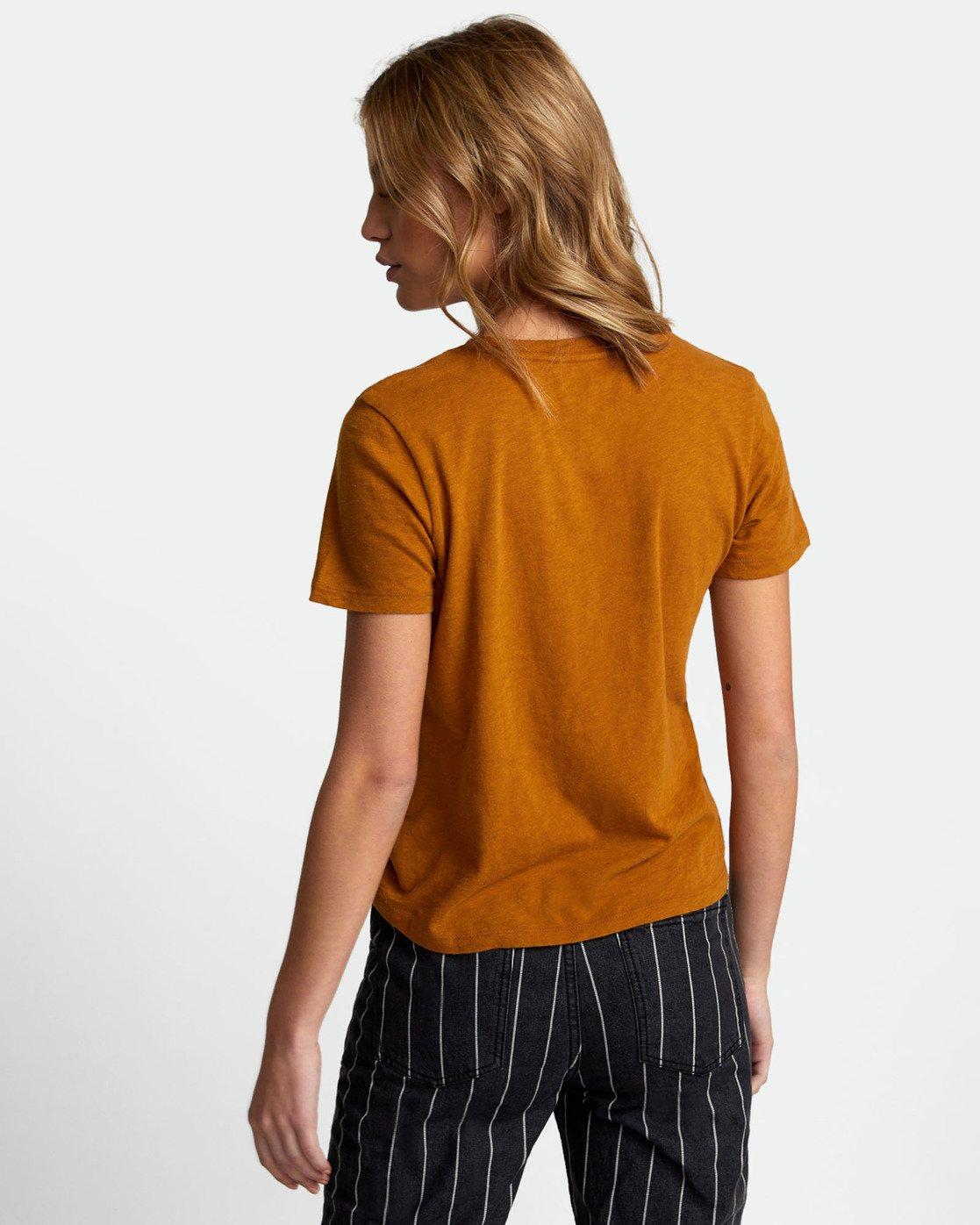 3 Solid Label Baby T-Shirt Orange W433URLA RVCA