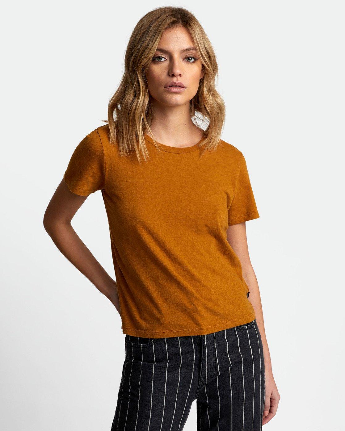 1 Solid Label Baby T-Shirt Orange W433URLA RVCA