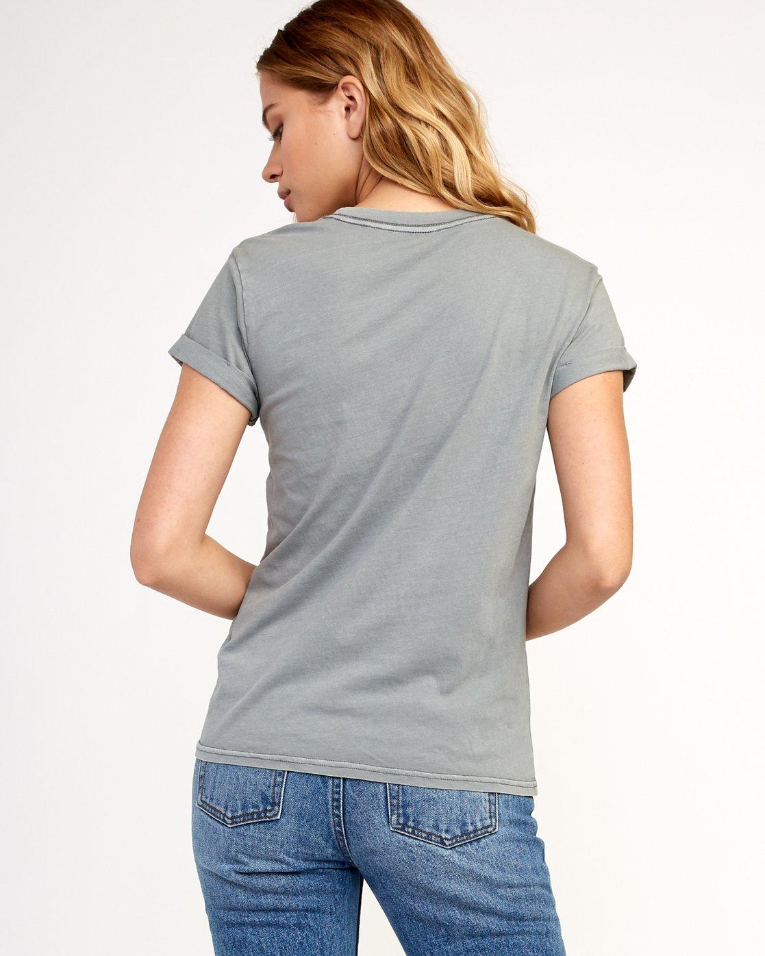 2 Billiard T-Shirt Grey W436TRBI RVCA